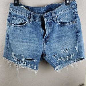 Citizens of humanity cut off shorts size 30